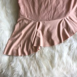 Zara Tops - Zara Collection • Blush Nude Top